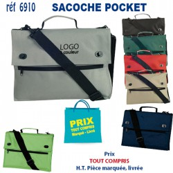 SACOCHE POCKET REF 6910 6910 SACOCHES - PORTE DOCUMENTS 3,96 €