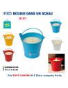 BOUGIE DANS UN SCEAU REF 8255 8255 POUR LA MAISON OBJETS PUBLICITAIRES  2,32€