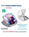 DOUBLE MIROIR METAL REF 3913 3913 NOUVEAUTES  3,24€