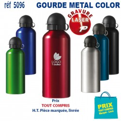 GOURDE METAL PERSONNALISEE COLOR REF 5096 5096 GOURDES GOBELETS 3,02 €