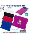 PORTE-CARTES RIGIDE RFID REF 9330 9330 ETUIS PORTE CARTES DE CREDIT PUBLICITAIRES  0,98€