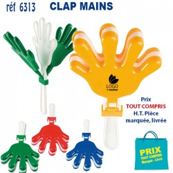 CLAP MAINS REF 6313 6313 SUPPORTERS 0,64 €
