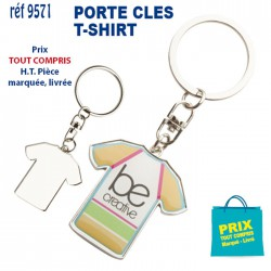 PORTE CLES T SHIRT REF 9571 9571 SUPPORTERS 1,35 €