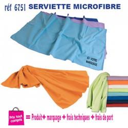 SERVIETTES EN MICROFIBRE REF 6751