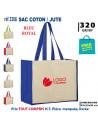 SAC COTON / JUTE REF 3308 3308 SACS SHOPPING - TOTEBAG  5,27€