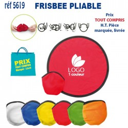 FRISBEE PLIABLE REF 5619 5619 LOISIRS - PLAGE 0,49 €
