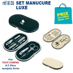 SET MANUCURE LUXE REF 8135