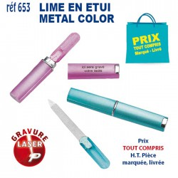 LIME EN ETUI METAL COLOR REF 653 653 SET MANUCURE 0,93 €