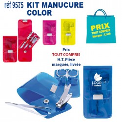 KIT MANUCURE COLOR REF 9575 9575 SET MANUCURE 1,15 €