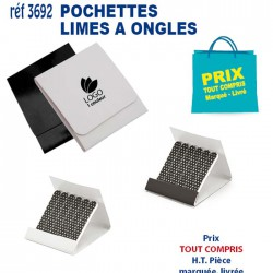 POCHETTE LIMES A ONGLES REF 3692 3692 SET MANUCURE 0,42 €