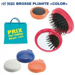 BROSSE PLIANTE COLOR REF 9680 9680 DIVERS : BROSSES - PEIGNES - VAPORISATEURS 0,72 €