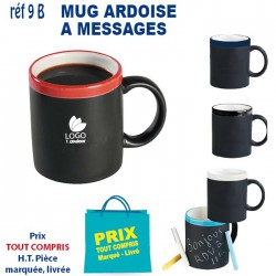 MUG ARDOISE A MESSAGE REF 9 B 9 B MUGS 2,78 €