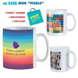 MUG PIXELS REF 6448