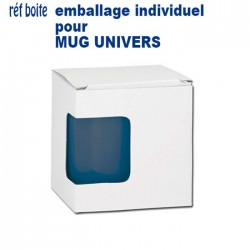 BOITE INDIVIDUELLE POUR MUG 9903 REF BOITE BOITE MUGS 0,40 €