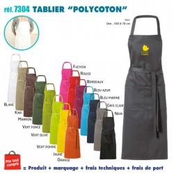 TABLIER DE CUISINE POLYCOTON REF 7304