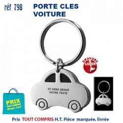 PORTE CLES METAL VOITURE REF 798 798 PORTE CLES EN METAL 1,78 €