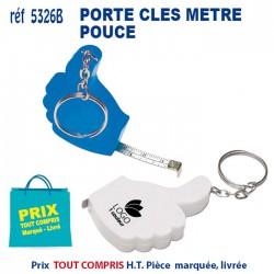 PORTE CLES METRE POUCE REF 5326 B 5326 B PORTE CLES PLASTIQUE 0,60 €