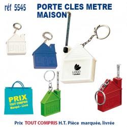 PORTE CLES METRE MAISON REF 5545 B 5545 B PORTE CLES PLASTIQUE 0,64 €