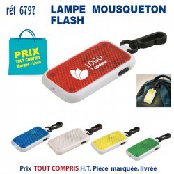 MOUSQUETON LAMPE FLASH REF 6797