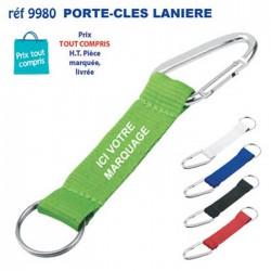 PORTE CLES LANIERE MOUSQUETON REF 9980