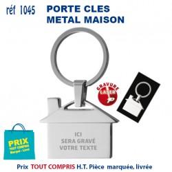 PORTE CLES METAL MAISON REF 1045 G 1045 G PORTE CLES EN METAL 1,30 €