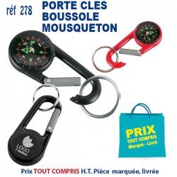 PORTE CLES MOUSQUETON BOUSSOLE REF 278