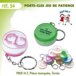 PORTE CLES JEU DE PATIENCE REF 54 54 PORTE CLES PLASTIQUE 0,35 €