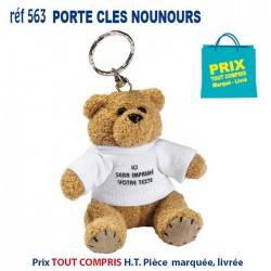 PORTE CLES NOUNOURS REF 563 563 PORTE CLES PLASTIQUE 1,32 €
