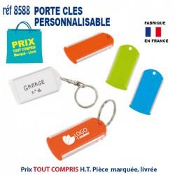 PORTE CLES PERSONNALISABLE REF 8588 8588 PORTE CLES PLASTIQUE 0,82 €
