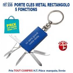 PORTE CLES METAL RECTANGOLO 5 FONCTIONS REF 556 556 PORTE CLES EN METAL 0,94 €