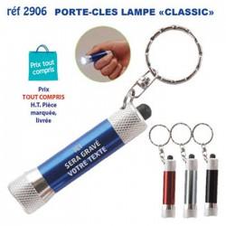 PORTE CLES LAMPE METAL CLASSIC REF 2906 2906 PORTE CLES EN METAL 1,50 €