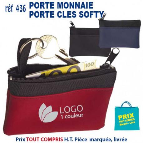 PORTE MONNAIE PORTE CLES SOFTY REF 436B 436B PORTE MONNAIE 1,05 €