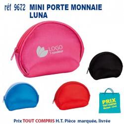 MINI PORTE MONNAIE LUNA REF 9672 9672 PORTE MONNAIE 0,84 €