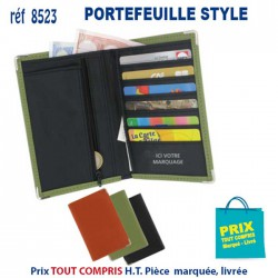PORTEFEUILLE STYLE REF 8523