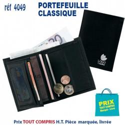PORTEFEUILLE CLASSIQUE REF 4049 4049 PORTEFEUILLE - PORTE BILLETS 1,72 €
