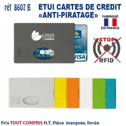 ETUI CARTE DE CREDIT ANTI PIRATAGE 8607 B