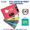 ETUI RIGIDE CARTE DE CREDIT ANTI PIRATAGE 8749 8749 ETUIS PORTE CARTES DE CREDIT 0,57 €