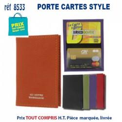 PORTE CARTES STYLE REF 8533 8533 ETUIS PORTE CARTES DE CREDIT 0,89 €