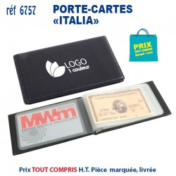 PORTE CARTES ITALIA REF 6757 6757 ETUIS PORTE CARTES DE CREDIT 1,12 €