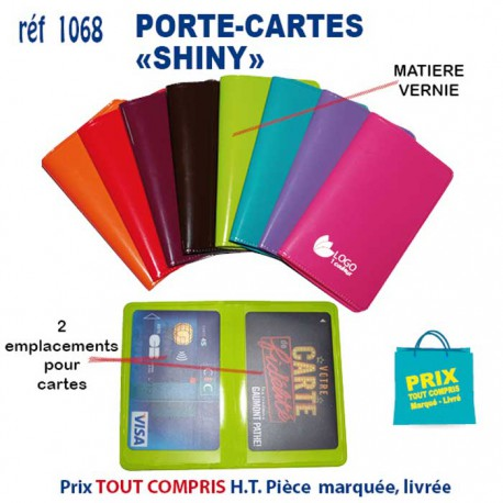 PORTE CARTES SHINY REF 1068 ETUIS DE CREDIT 032 EUR
