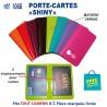 PORTE CARTES SHINY REF 1068 1068 ETUIS PORTE CARTES DE CREDIT 0,32 €