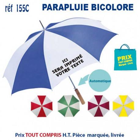 PARAPLUIE BICOLORE 155C 155C PARAPLUIE MANCHE DROIT 4,00 €