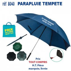 PARAPLUIE TEMPETE REF 8040 8040 PARAPLUIES TEMPETE 4,75 €