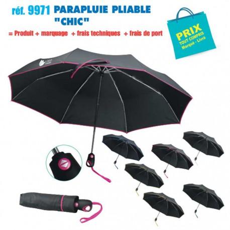 PARAPLUIE PLIABLE CHIC REF 9971 9971 PARAPLUIE PLIABLE 9,88 €