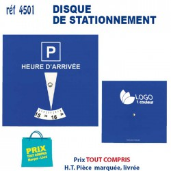 DISQUE DE STATIONNEMENT REF 4501 4501 TOUT POUR L'AUTO 0,62 €