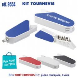 KIT TOURNEVIS REF 9554 9554 OUTILS 1,16 €