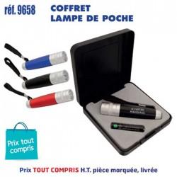 COFFRET LAMPE DE POCHE REF 9658 9658 LAMPES 3,57 €
