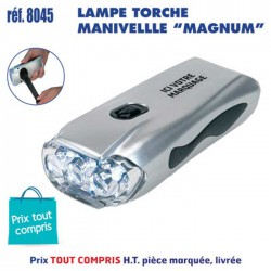 LAMPE TORCHE MANIVELLE MAGNUM REF 8045 8045 LAMPES 4,12 €
