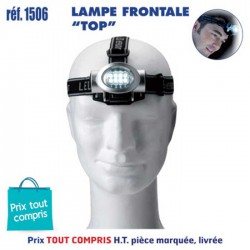 LAMPE FRONTALE TOP REF 1506 1506 LAMPES 4,39 €