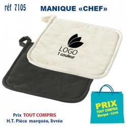 MANIQUE CHEF REF 7105 7105 TEXTILE CUISINE 1,29 €